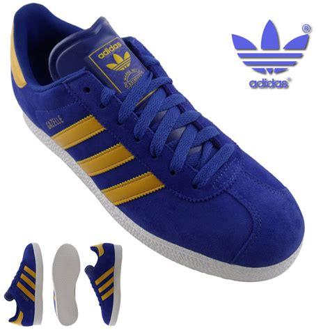 Adidas Gazelle Size 39 43 mens adidas gazelle 2 blue trainers uk size 6 11 ebay