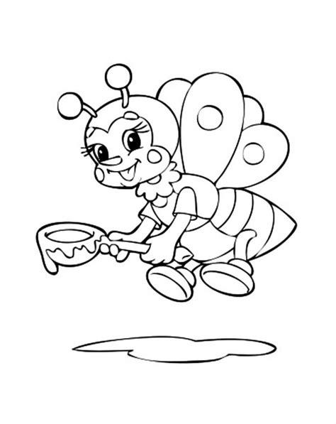 desenhos de abelhas para imprimir e colorir animais para