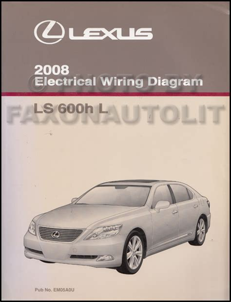 all car manuals free 2008 lexus ls user handbook 2008 lexus ls 600h l owners manual original