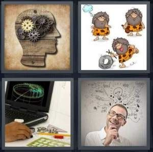 Drawing 4 Pics 1 Word by 4 Pics 1 Word Answer For Mind Cavemen Draw Idea Heavy