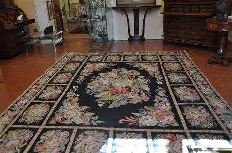 tappeti francesi tappeto aubusson antiquariato su anticoantico