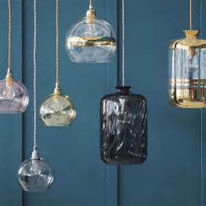 Glass Pendant Lighting Glass Pendant Lights Mad About The House