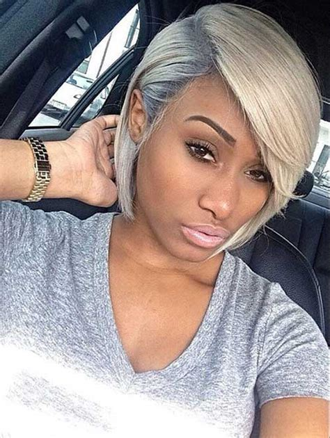 black womens hair to platinum blonde 20 short bob hairstyles black women bob hairstyles 2017