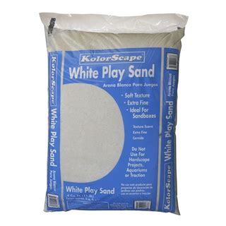 southernstates kolorscape white play sand 4cu ft