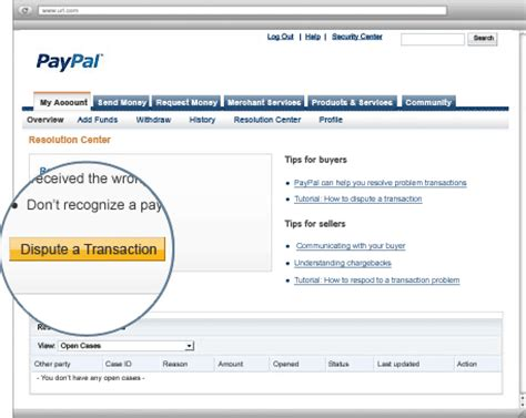 solving problems with a paypal purchase paypal