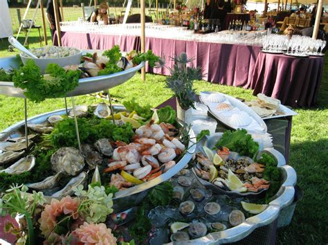 buffets for weddings catering vineyard weddings rehearsal dinners clambakes buffets