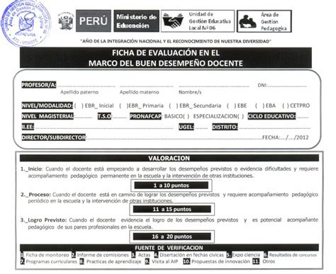 resultados oficiales de evaluacion docente 2015 directiva del contrato docente 2015 autos post