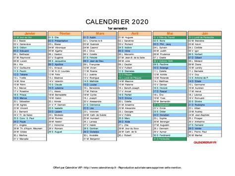 Calendrier 2019 Et 2020 Calendrier 2020 224 Imprimer Gratuit En Pdf Et Excel