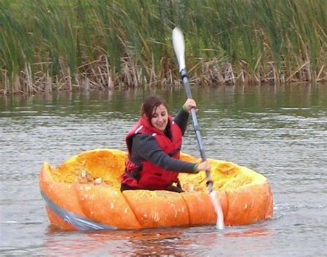 giant pumpkin boat races 2014 rural ramble in the ottawa - Pumpkin Boat