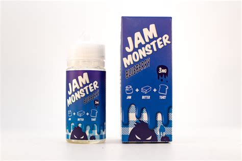 Liquid Gorilla Jam Blueberry Liquid jam blueberry jam liquids