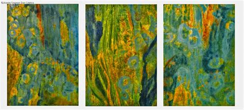 Drawing Or Painting by Color Schemes Triptych Lesson