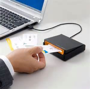 business card reader machine usb powered business card scanner will make your presence