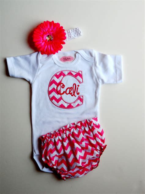 items similar to personalized baby clothes newborn
