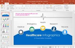 powerpoint templates for healthcare animated healthcare infographics for powerpoint