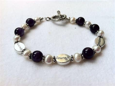 serenity prayer beaded bracelet this bracelet includes three oval sterling silver serenity