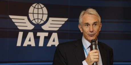 Tv Iyata tony of the world s airline organistion iata