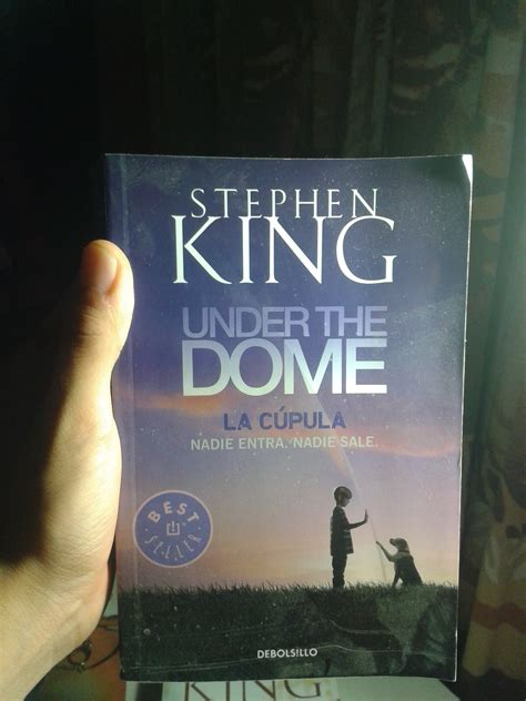 libro under the dome stephen king mi colecci 243 n de libros