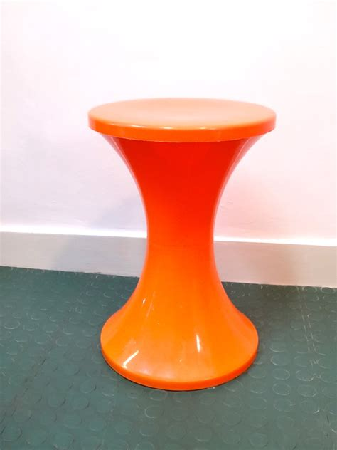 Tabourets Tam Tam by Tabouret Tam Tam Orange Brocnshop
