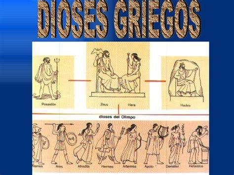 dioses griegos dioses griegos