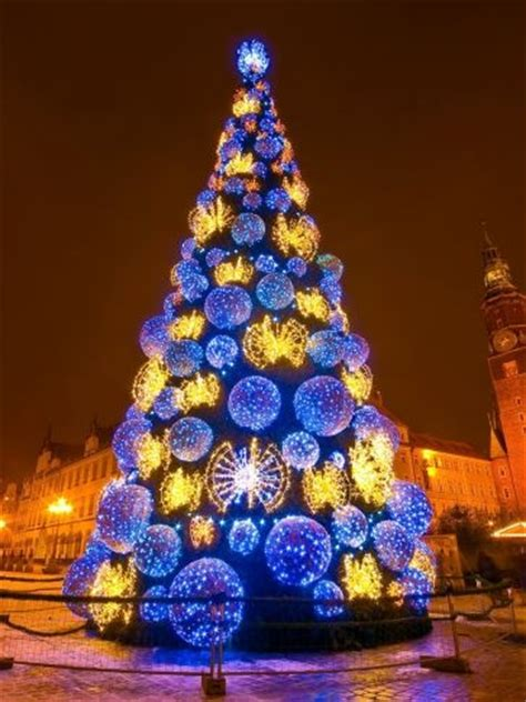christmas tree in poland poland pinterest