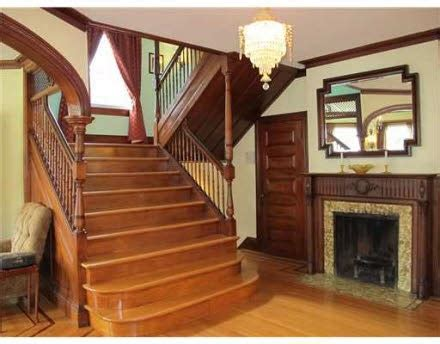 Pics Of Foyers Foyer With Fireplace And Wide Staircarse In 1894 Restored