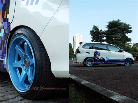 Lu Eagle Eye Mobil Avanza modifikasi toyota avanza kosmetik entertainment
