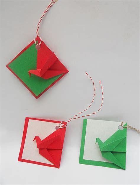 Gruya Origami - origami navidad tarjetas grulla mis origamis