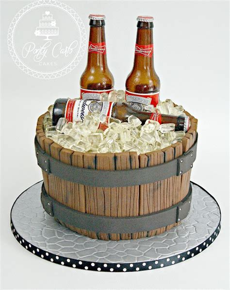 beer barrel cake 21st birthday cake ideas based on personality party xyz