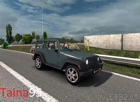 modded jeep jeep wrangler ai traffic ets 2 mods