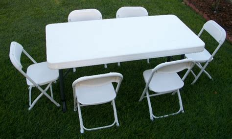 Folding Childrens Table And Chairs Plastic Folding Chair You Can T Beat This Rentals You Can T Beat This Rentals