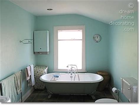 bathroom color schemes in turquoise and mint
