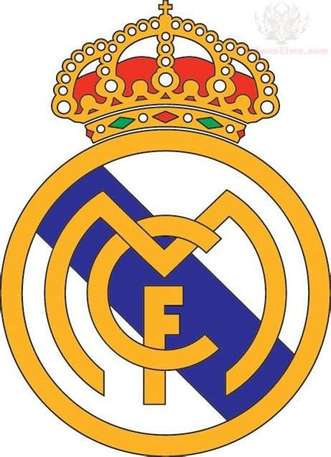 real madrid colors color real madrid c f logo design