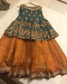Baby Girls Sharara Dress Designs 2018 For Wedding