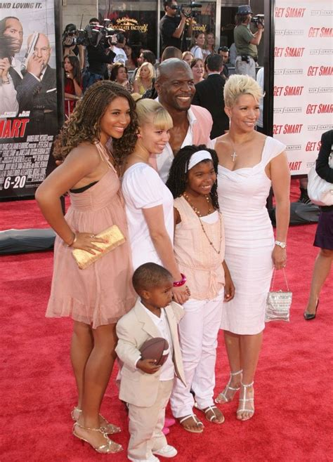 terry crews kids terry crews and family attend get smart premiere
