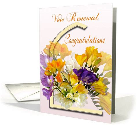 Congratulations Wedding Vow Renewal by Vow Renewal Congratulations Cards From Greeting Card