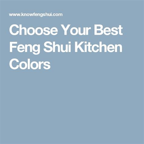 best feng shui colors for kitchen 17 best images about feng shui on feng shui