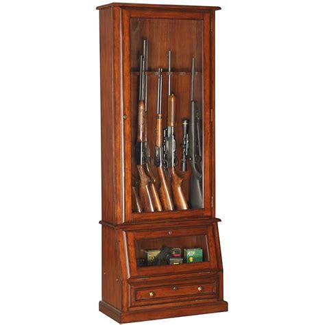 In Wall Gun Cabinet slanted base 12 gun cabinet free shipping today