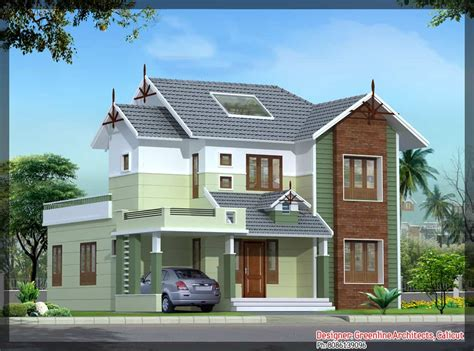 house elevations kerala house plans with estimate for a 2900 sq ft home design