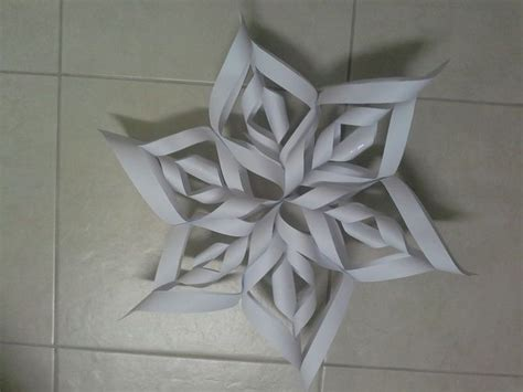 Make A 3d Paper Snowflake - make a 3d paper snowflake 3d paper pictures and paper