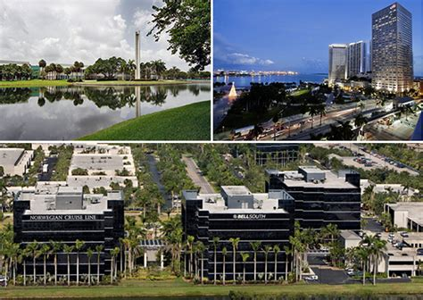 Motorola Corporate Office by South Florida Office Leases 2015 Torburn Partners Broward