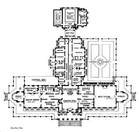 lynnewood hall floor plan widener mansion first floor widener pinterest