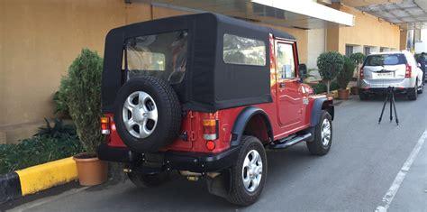 mahindra jeep thar 2016 mahindra thar drive review