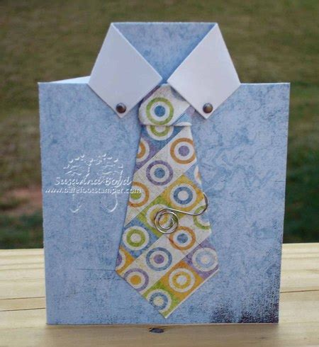 Make Fathers Day Shirt Gift Card Crafts Card Idea For