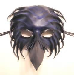 leather bird mask crow raven by teonova on deviantart