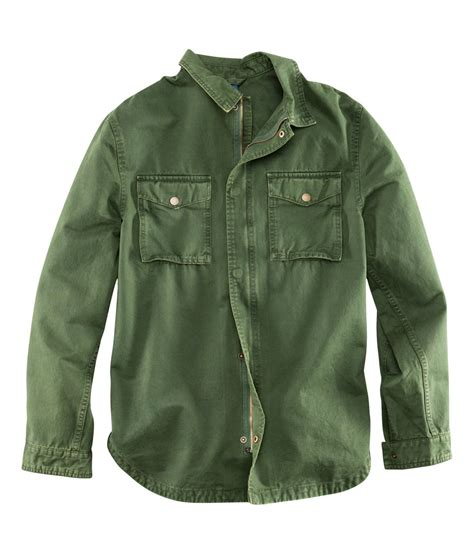 H Jaket h m shirt jacket in green for lyst