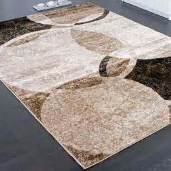 teppiche bei hammer designer teppich wohnzimmer teppich kreis muster in braun