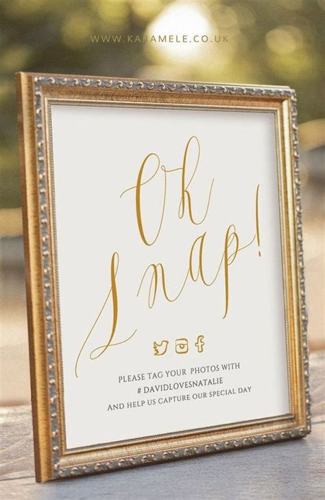 No At Your Wedding Our One 4 best 25 hashtag sign ideas on wedding