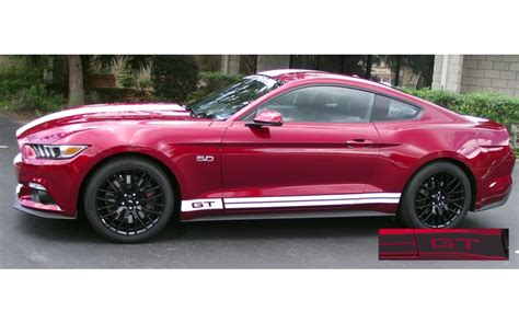 stripes on mustang 2015 2018 mustang stripes free shipping