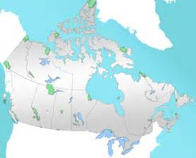 map of us and canada national parks list of national parks of canada