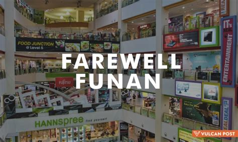 new year singapore malls closed funan to for 3 years the mall through the ages
